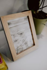 Small wooden frame