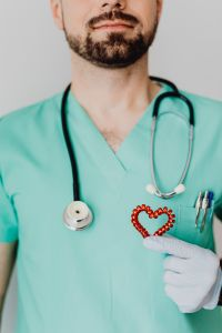 Kaboompics - Young male doctor - cardiologist