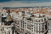Kaboompics - Cityscape of Madrid, with Gran Via Street