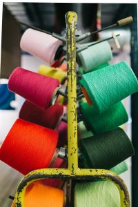 Kaboompics - Big colorful Spool of Thread Sewing