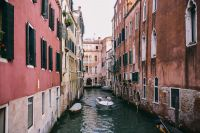 Kaboompics - Canal with gondolas in Venice, Italy