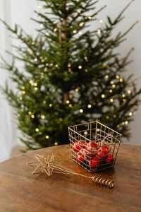 Christmas decorations - gifts - lights - tree -