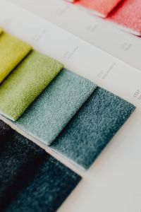 Kaboompics - Colorful upholstery fabric samples