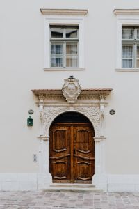Kaboompics - A city with ancient architecture, old doors, Cracow, Poland