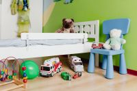 Kaboompics - Children's room with bed and toys