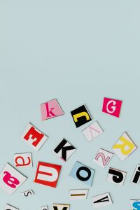 Kaboompics - Colorful alphabet letters