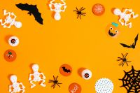 Kaboompics - Halloween flat lays backgrounds