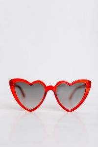 Kaboompics - Heart shaped sunglasses