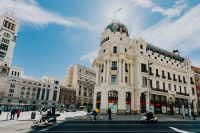 Kaboompics - The Metropolis Building or Edificio Metrópolis, Gran Via Street, Madrid, Spain