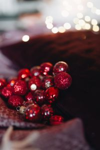 Burgundy Christmas Decorations
