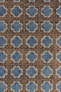 Portuguese Azulejos, typical glazed ceramic tiles