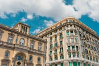 Old buildings - architecture of Naples
