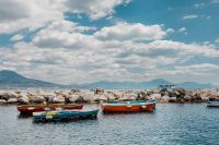 Kaboompics - A small fishing boats