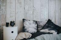 Kaboompics - Collection of grey and white pillows