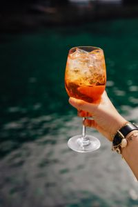 Aperol Spritz cocktail drink