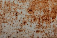 Rusty sheet metal
