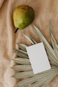 Kaboompics - Maracuya & Pear -  stock photos for mockups - business card - flyer