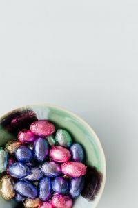 Kaboompics - Colorful eggs