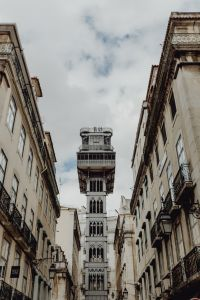 Kaboompics - View of the historic elevator of Lisbon in Portugal
