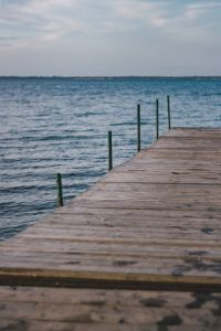 Kaboompics - Wooden pier by the sea