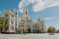 Kaboompics - Plaza de la Cibeles - Central Post Office (Palacio de Comunicaciones), Madrid, Spain