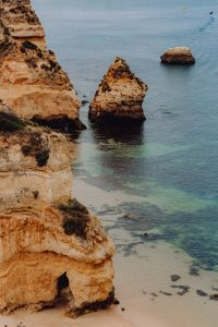 Kaboompics - Camilo beach (Praia do Camilo) in Lagos, Algarve, Portugal
