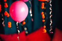 Kaboompics - Red Balloons and Decorations for Valentine's Day