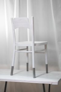 Kaboompics - White chair on a table