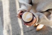 Kaboompics - Hands Holding Hot Cup of Coffee