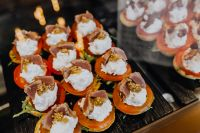 Parma ham and Mozzarella Appetizer
