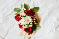 Bouquet of Flowers with Copy Space - Background