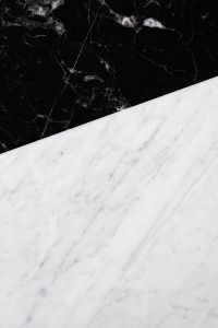 Kaboompics - Black & White marble stone texture - high resolution background