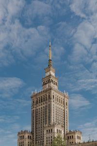 Palace of Culture and Science (Polish: Pałac Kultury i Nauki; PKiN), Warsaw, Poland