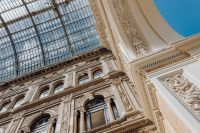 Galleria Umberto I, a public shopping gallery in Naples