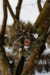 Kaboompics - Winter Wreath