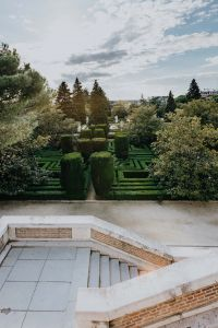 Kaboompics - Sabatini garden in Madrid, Spain