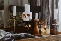 Kaboompics - Halloween Decorations & Candles