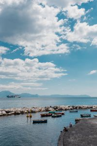 Naples, Italy. Tyrrhenian Sea