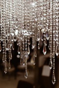 Kaboompics - Close up of crystal chandelier