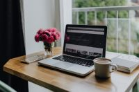 Kaboompics - Home office of a modern businesswoman