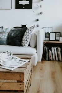 Kaboompics - Contemporary black-and-white home decor