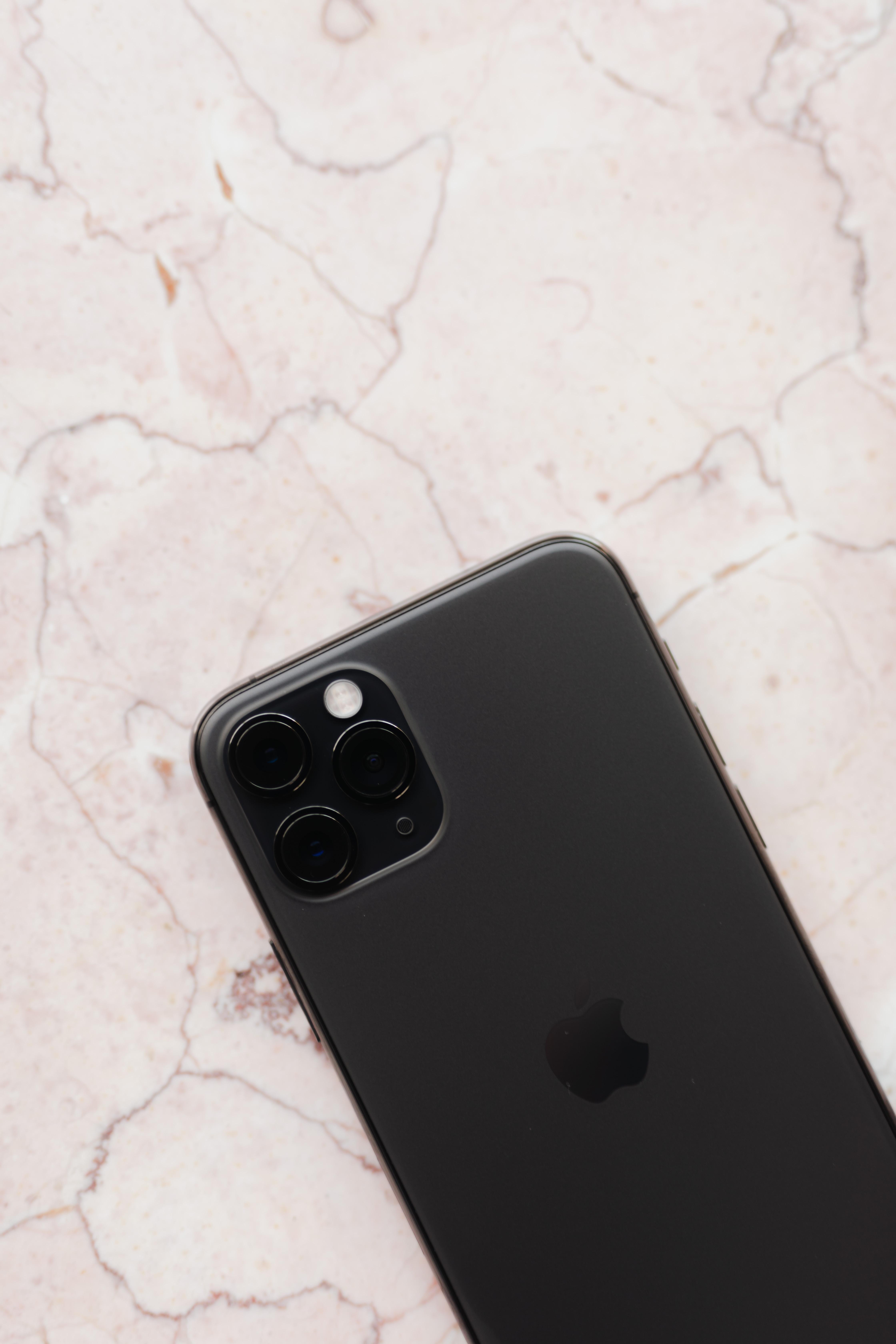 Apple iPhone 11 Pro on marble