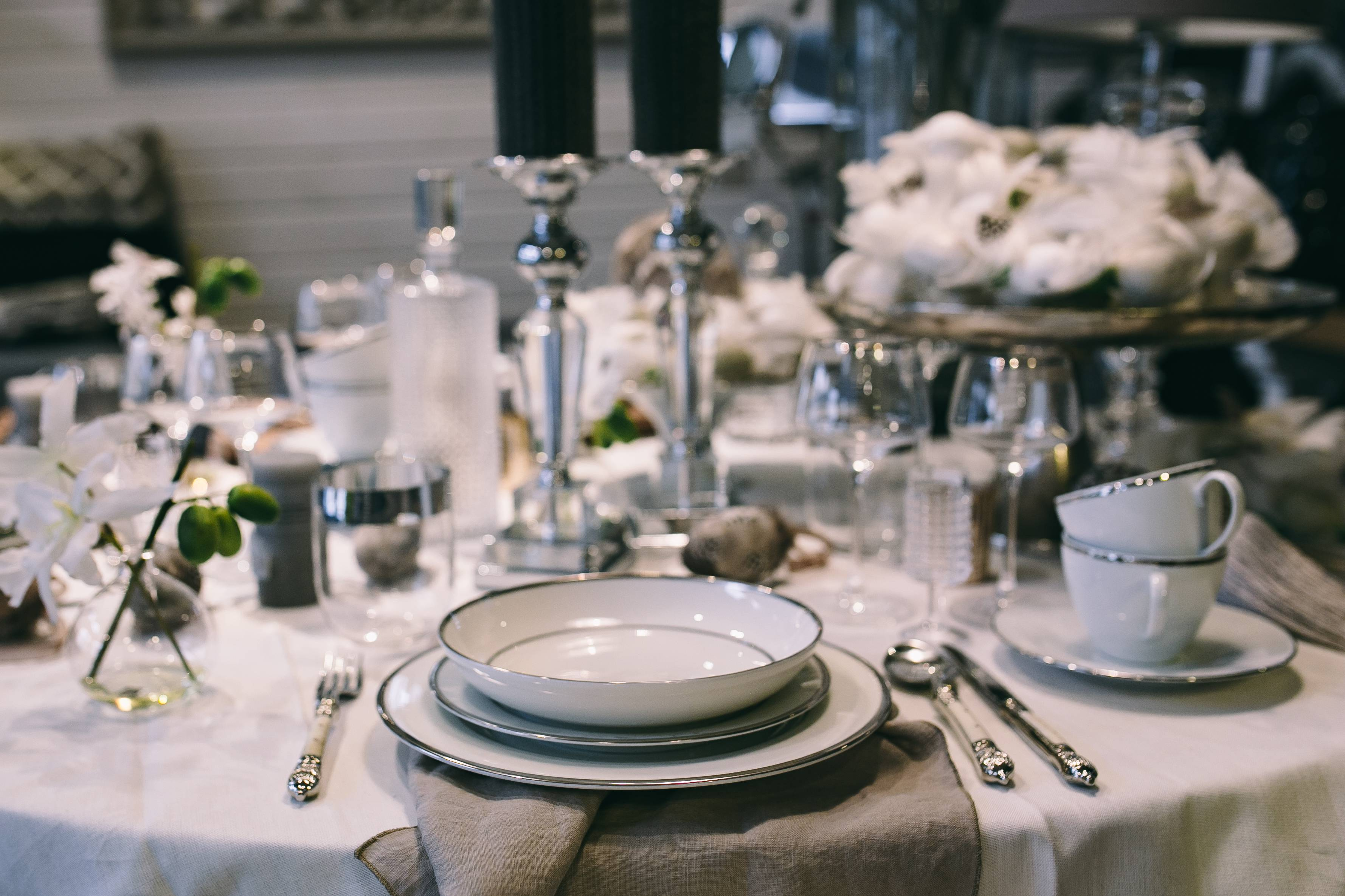 Free Stock Photos Of Lifestyle Home Decor Kaboompics - Fancy restaurant table